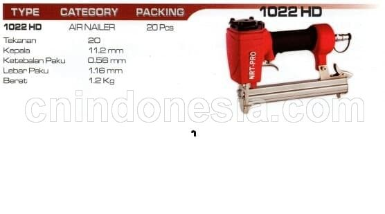 Air Nailer NRT Norita 1022 HD